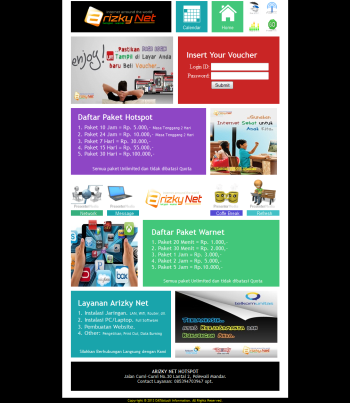 page login arizky net_2013